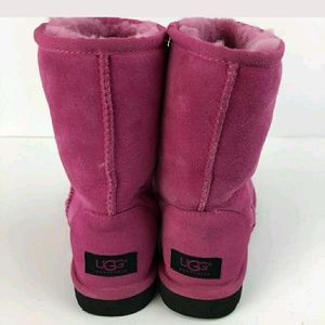 Women's UGG Pink boots size 5